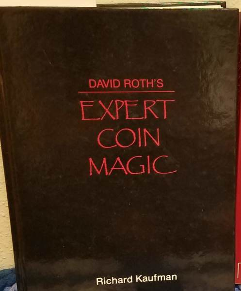 Expert Coin Magic Book